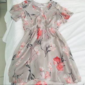 Sienna Sky Spring Floral Dress Size S